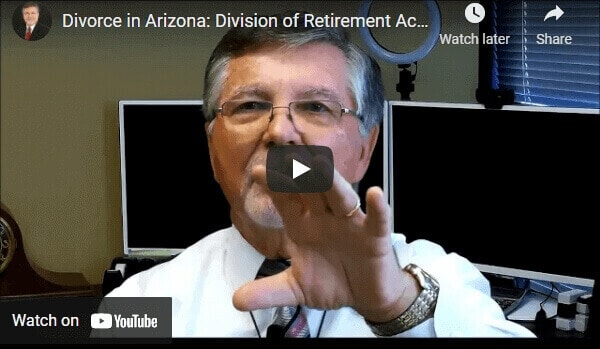 Division of Retirement Accounts in a Divorce